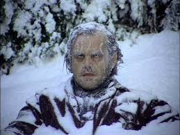 Jack Nicholson, The Shining, movie, winter, snow