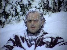 Jack Nicholson, The Shining, movie, winter, snow