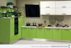 modular kitchen colors: jealous green  jealous green jealous green