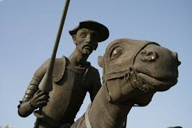 ilan stavans appreciates don quixote as a giant astride two cultures a detail of the don quixote statue in alcaacutezar de san juan spain much