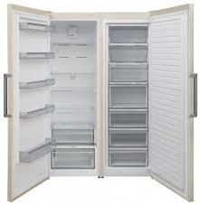 <b>Холодильник Jackys</b> JLF FV1860 <b>Side</b> by <b>Side</b> бежевый купить в ...