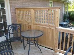 <b>Deck</b> Privacy Lattice | Privacy <b>Fence Solid</b> Board with Square Lattice ...