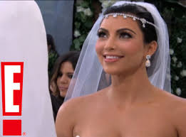 Kim Kardashian wedding veil