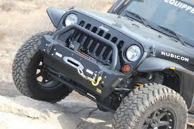 Jeep Rock Crawler Tjm Jeep Wrangler Jk Stubby Rock Crawler Front Winch Mount Bumper