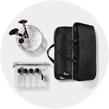 portable felt makeup bag brush case travel pouch beauty organizer roll pen pencil