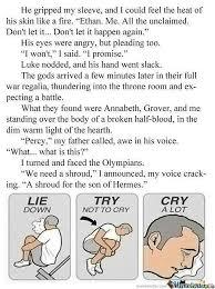 Fandom Memes #2 - Percy Jackson section - Wattpad via Relatably.com