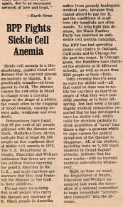 bpp fights sickle cell anemia ing john sinclair bpp fights sickle cell anemia