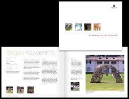 studio h creative work portfolio montalvo sculpture brochure