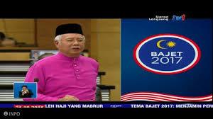 Image result for najib budget 2017