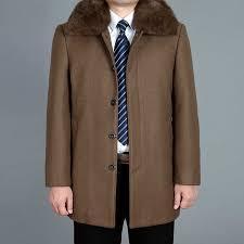 2019 New Men <b>Woolen Coat</b> Autumn <b>Wool</b> Blend <b>Jacket Winter</b> ...