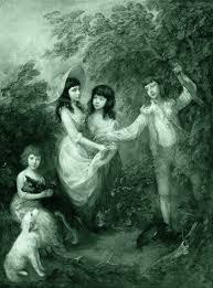 childhood in the enlightenment the bildungsr project gainsborough thomas the marsham children 1787 public via