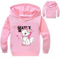 Z&Y 3-<b>16Y</b> Marie Aristocats Cat Clothes Kids Long Sleeves <b>Shirt</b> ...