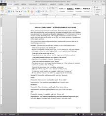 job interview questions template hrg104 1job interview questions template