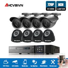 <b>AHCVBIVN</b> 720P Video Surveillance System 8CH CCTV Security Kit ...