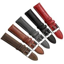 <b>Genuine Leather Watch Straps</b> / Watch Bands | WatchGecko