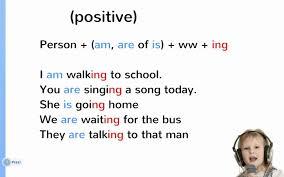حال استمراری در انگلیسی