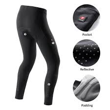 <b>Santic Men</b> Cycling Pants Long Pants With Coolmax Padded ...