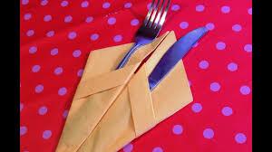 Красиво сложить <b>бумажные салфетки</b> 2. How to fold napkins ...