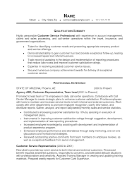 professional summary resume examples customer service cipanewsletter professional summary for customer service resume template