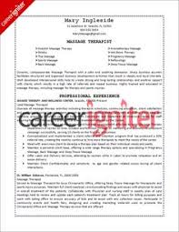 massage therapist resume sample massage therapy resume examples