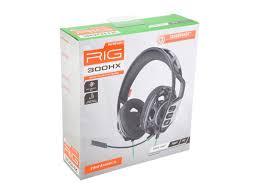 <b>Plantronics RIG 300HX</b> Stereo Gaming Headset - Xbox One ...