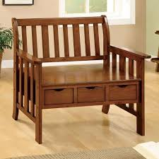 furniture of america norelia mission style bench with 3 drawers alibaba furniture