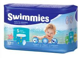 <b>Трусики для плавания Swimmies</b> Small 7-13кг, 12шт. - купить в ...