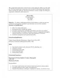 sample supervisor resume cover letter template for maintenance resume for maintenance manufacturing project manager resume electrical maintenance resume skills maintenance resume skills maintenance technician