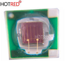 <b>100PCS</b> Epileds 3W 3535 SMD Deep Red <b>High Power</b> 660NM ...