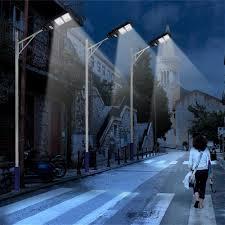 Outdoor <b>Lighting</b> 120W/160W <b>360LED Solar</b> Street <b>Wall Light</b> PIR ...