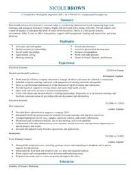 Executive Assistant CV Example for Admin | LiveCareer ... are downloadable as Adobe PDF, MS Word Doc, Rich Text, Plain Text, and Web Page HTML Formats. Click to Enlarge Image LiveCareer CV Example Directory