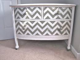 chevron painted dresser diy chevron painted furniture
