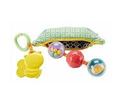 <b>Подвесная игрушка Fisher Price</b> Mattel Горошек с погремушками и ...
