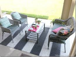 outside patio rugs