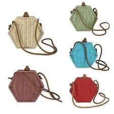 <b>Rattan</b> Bag <b>Handwoven</b> Bali <b>Rattan Wicker</b> Beach Bag Shoulder ...