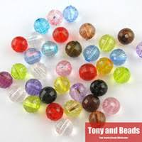 Wholesale <b>Round Faceted</b> Acrylic Beads for Resale - Group Buy ...