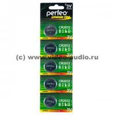 <b>Батарейки</b> - <b>Perfeo CR2032/5BL</b> Lithium Cell