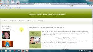 how to make your own com website how to make your own com website
