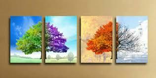 tree wall decor art youtube:  piece wall art canvas makipera