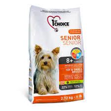 1ST CHOICE DOG SENIOR OR LESS ACTIVE - TOY ... - Pets Choice