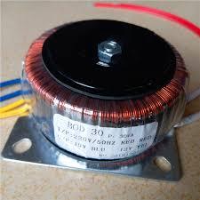 15V 1A 12V 1A Ring <b>transformer</b> copper 30VA <b>220V input</b> custom ...