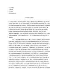 example interview essay  essay example sample of admission essay smlf example interview essay papers
