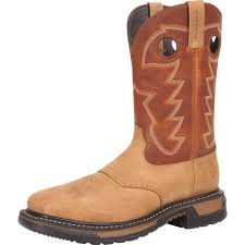 mens western boots size all about boots rocky western boots mens 11 original ride steel toe wp brown rkyw041