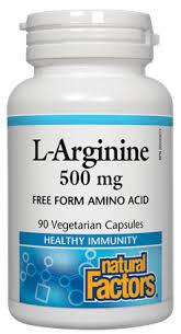 <b>L</b>-<b>Arginine</b> | Natural Factors Canada