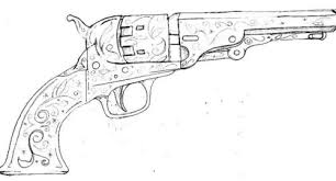 Image result for pistols drawings