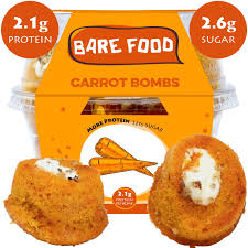 <b>New</b>! Carrot Bombs (More protein, less sugar. 4-<b>5 pieces</b>) - Skinny ...