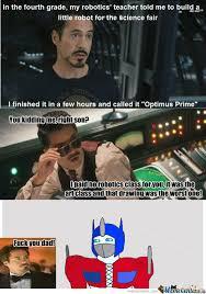 RMX] Just Tony Stark by johndoe666 - Meme Center via Relatably.com