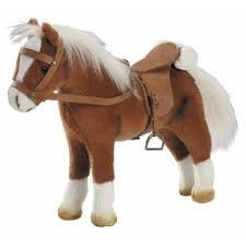 «<b>Лошадь</b> для куклы с седлом и уздечкой <b>Gotz</b> 3401099 ...