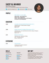 an interactive web graphic designing solution saeef al mahmud resume