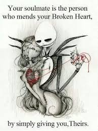 You Soulmate Is The Person Who Mends Your Broken Heart | WeKnowMemes via Relatably.com